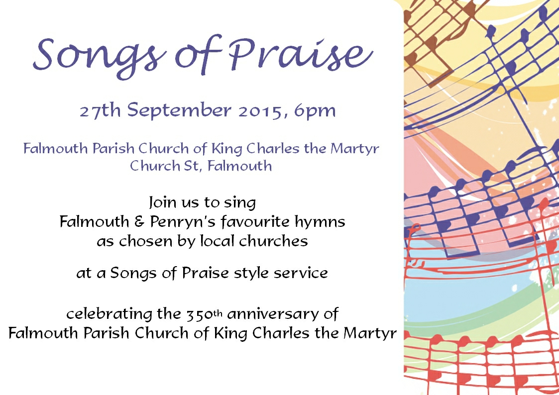 Songs of Praise Poster 2