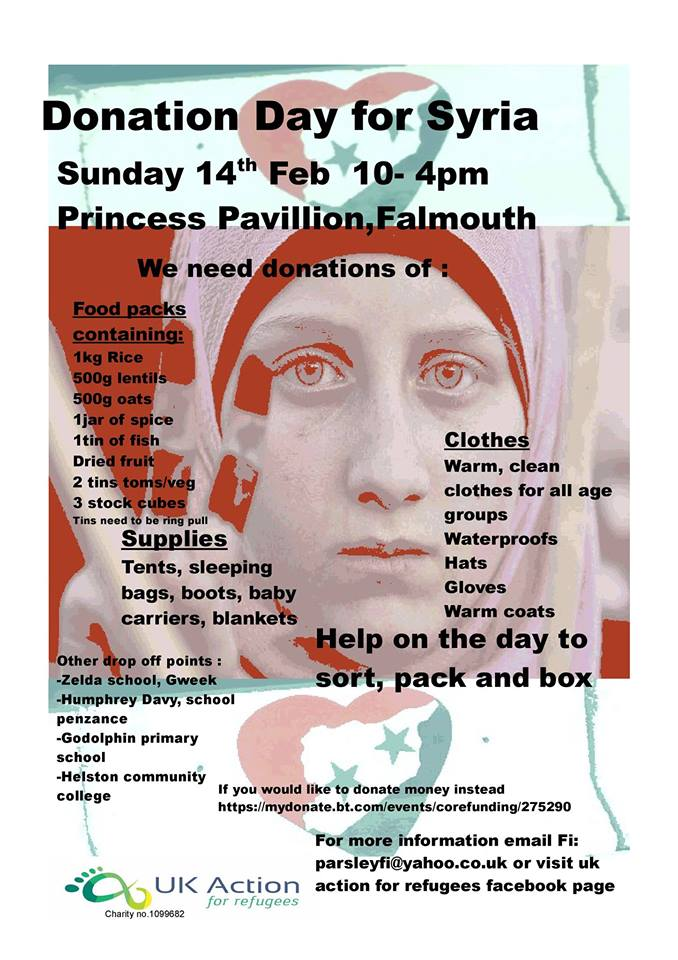 donation day for syria