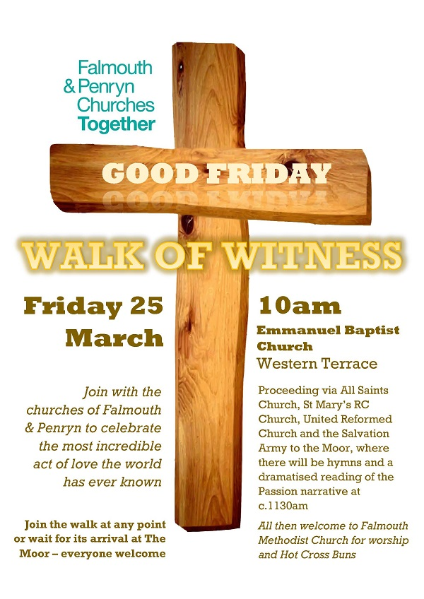 Good Friday poster A4