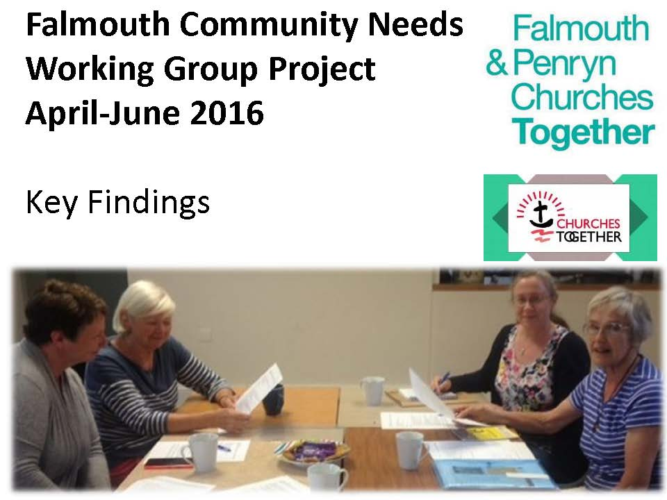 Falmouth and Penryn Community Needs Working Group Presentation